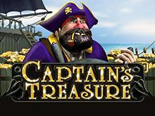 Пиратская игра с бонусами и призами - Captains Treasure